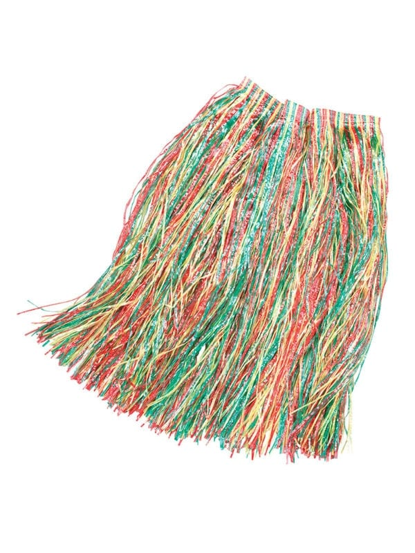 Coloured Grass Skirt 80CM