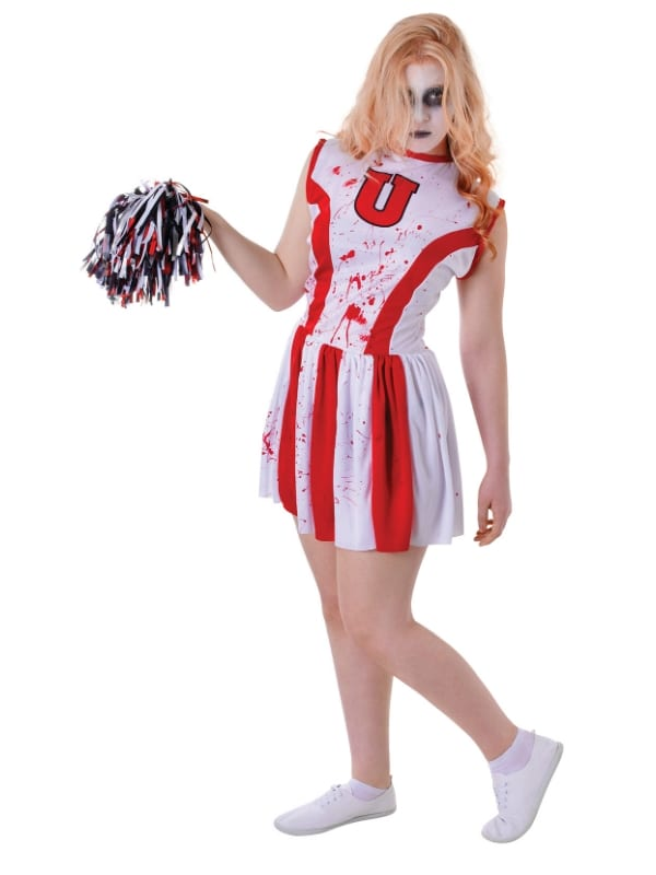 Cheerleader Bloody with Pom Pom