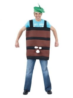 BARREL COSTUME FOR FANCY DRESS PARTY PLAY