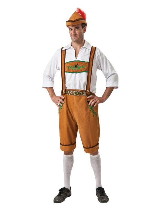 GERMAN COUNTRY MAN OKTOBERFEST BEER PARTY FOR FANCY DRESS ADULT