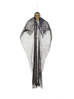 7FT HANGING SKELETON SCARY PROP HALLOWEEN PARTY ACCESSORY