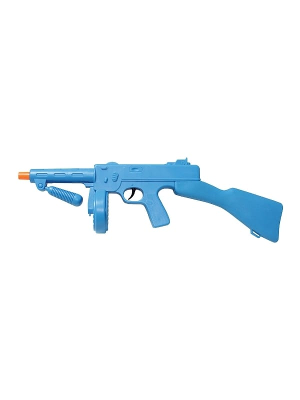 TOMMY GUN BLUE ITALIAN MAFIA FANCY DRESS COSTUME ACCESSORY NEW DESIGN