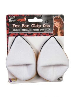 ANIMAL FOX EARS ON HAIR CLIPS FOR FANCY DRESS PARTY ACCESSORY
