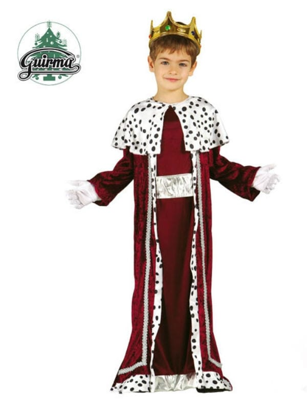 KINGS ROBE CAPE FANCY DRESS CHILD COSTUME 3 SIZES