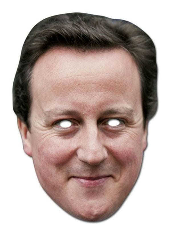 DAVID CAMERON BRITISH POLITICIAN CELEBRITY ADULT ONE SIZE