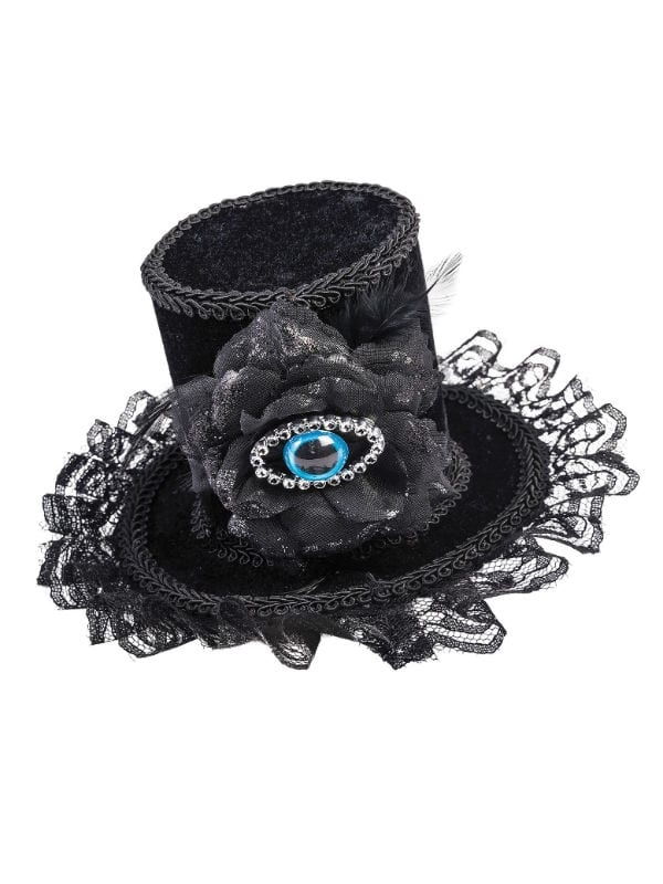 EVIL EYE MINI TOP HAT LADY'S HALLOWEEN PARTY ACCESSORY