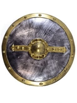 ADULT MEDIEVAL & GOTHIC ROUND SHIELD FANCY DRESS ACCESSORY