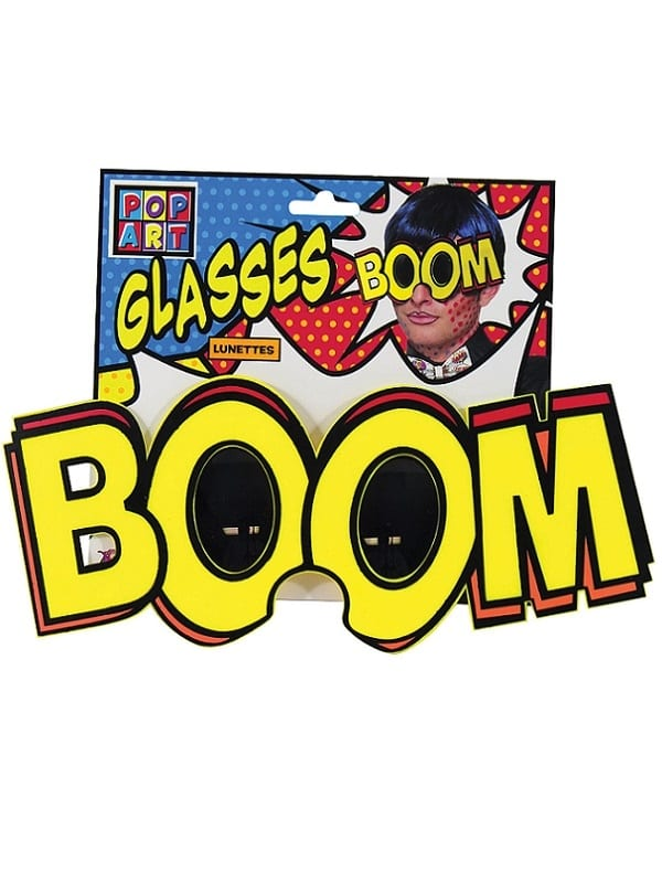 Pop Art Jumbo Boom Glasses