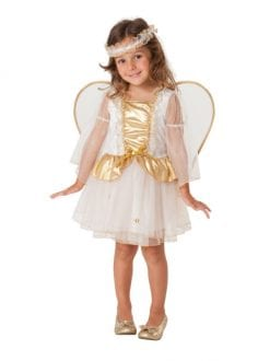 LITTLE ANGEL CHRISTMAS PARTY TODDLER FANCY DRESS COSTUME