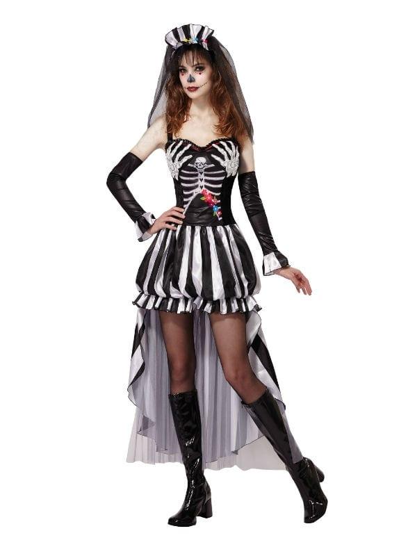 Skeleton Outfit Halloween.Skeleton Queen