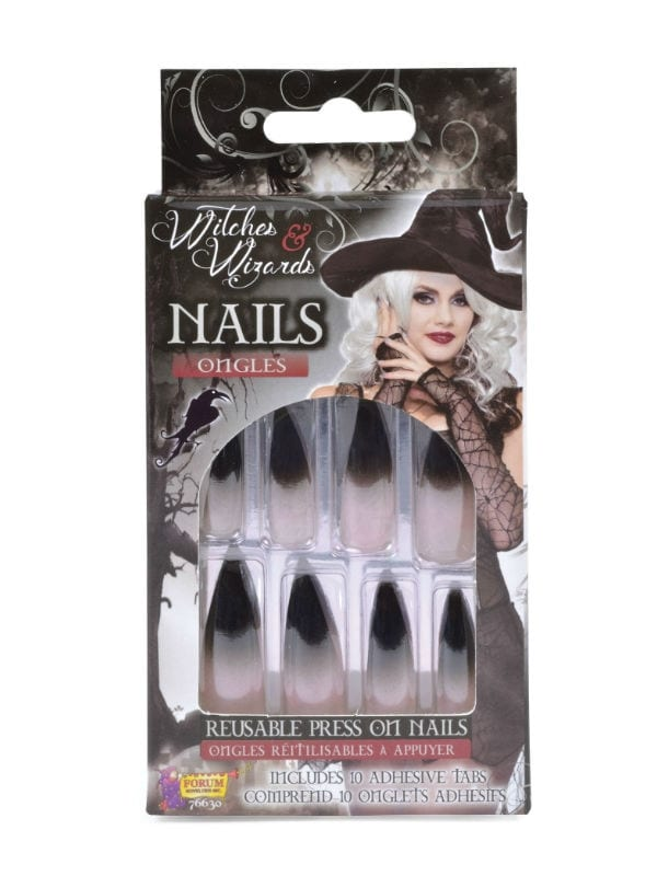 WITCHES NAILS FANCY DRESS ACCESSORY HALLOWEEN