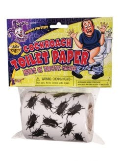 COCKROACH TOILET PAPER HALLOWEEN PARTY DECORATION